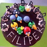 dort čoko Angry Birds