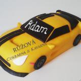 dort auto žluté sportovní